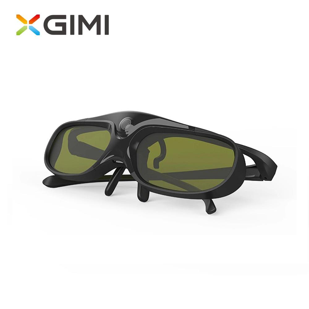 Xgimi 3d óculos para projetor do obturador 3d tv ativa, adequado para miopia, clip óculos 3d para xgimi h3. Para Xiaomi projetor