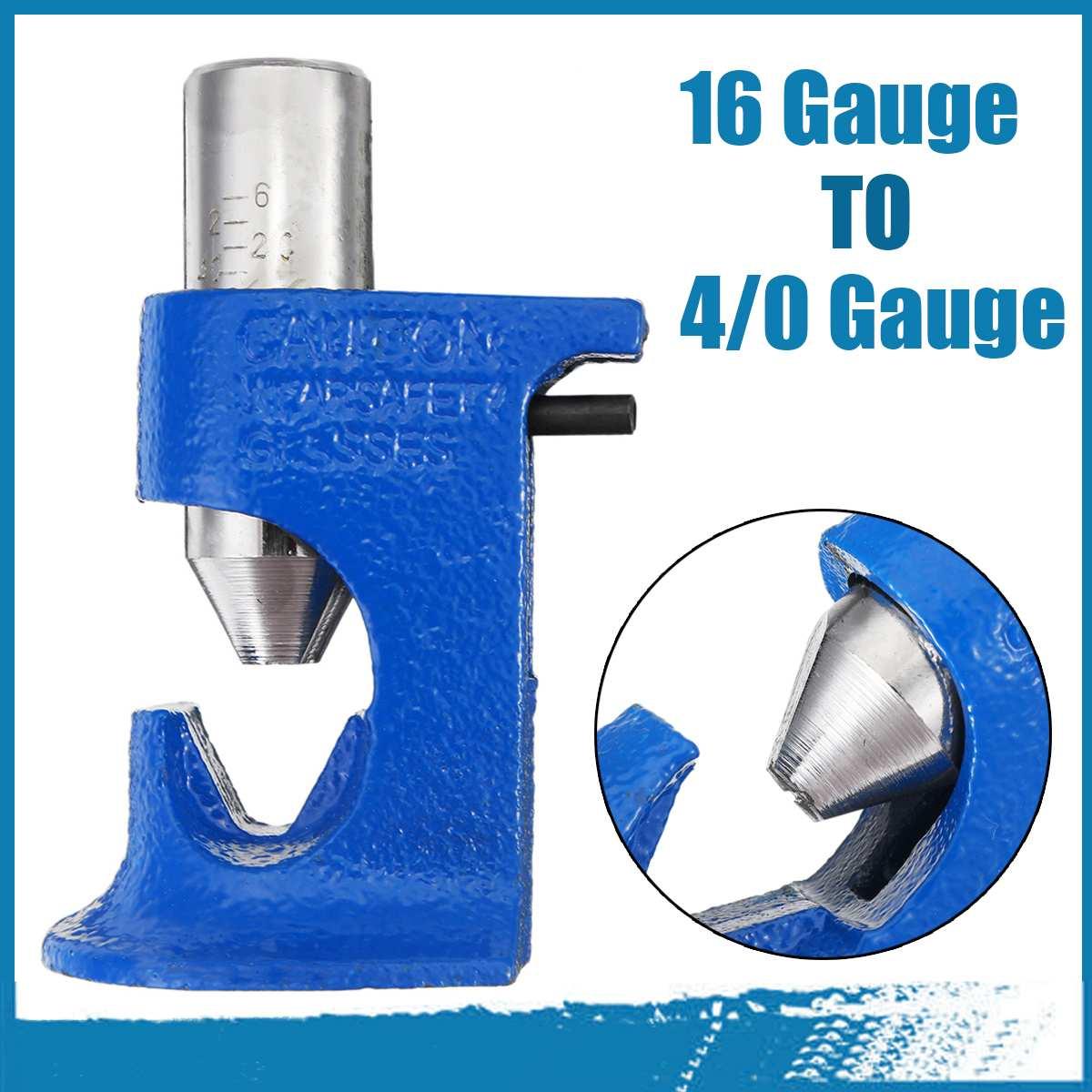 Lug ferramenta de friso mola carregado martelo tipo ferramenta greve crimper cabo alicate automático fio propagador 16 calibre a 4/0 calibre