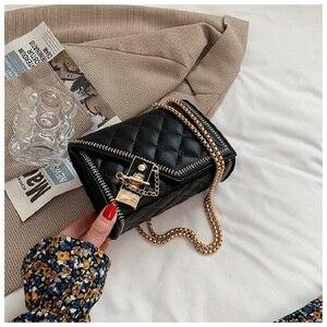 Female Bag 2021 Summer New Style Diamond Chain Small Square Bag Messenger Fashion Korean Mobile Phone Small Bag
