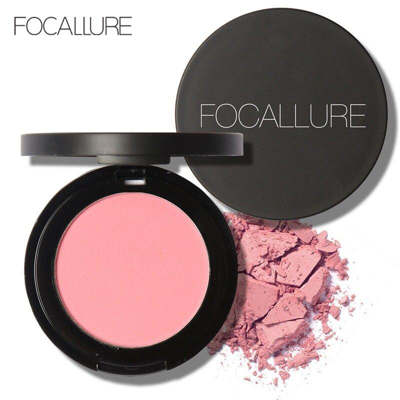 Focallure-Bronceador en polvo, rubor resistente al agua de larga duración, rubor en polvo para mejillas, rubor encantador para rostro maquillaje paleta FA25B