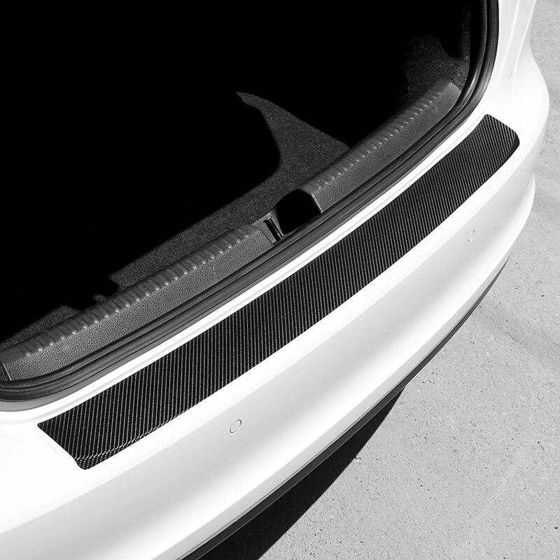 Etiqueta engomada de la placa trasera del maletero del coche Universal para volkswagen golf 4 ford focus 3 asiento de toyota auris exeo bmw e46 audi a A1 A2