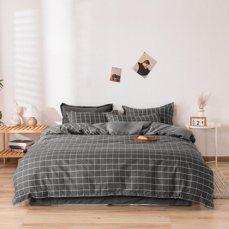 الشمال نمط منقوشة طقم سرير ، حاف الغطاء المخدة 3 قطعة 175x220,200x220 غطاء لحاف ، مجموعات سرير ملكي