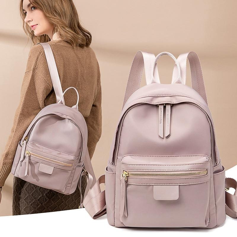حقيبة ظهر للنساء 2021 Kawaii مدرسة فتاة صغيرة حقائب أنيقة السفر صغيرة لطيف مقاوم للماء حقيبة الإناث المحفظة