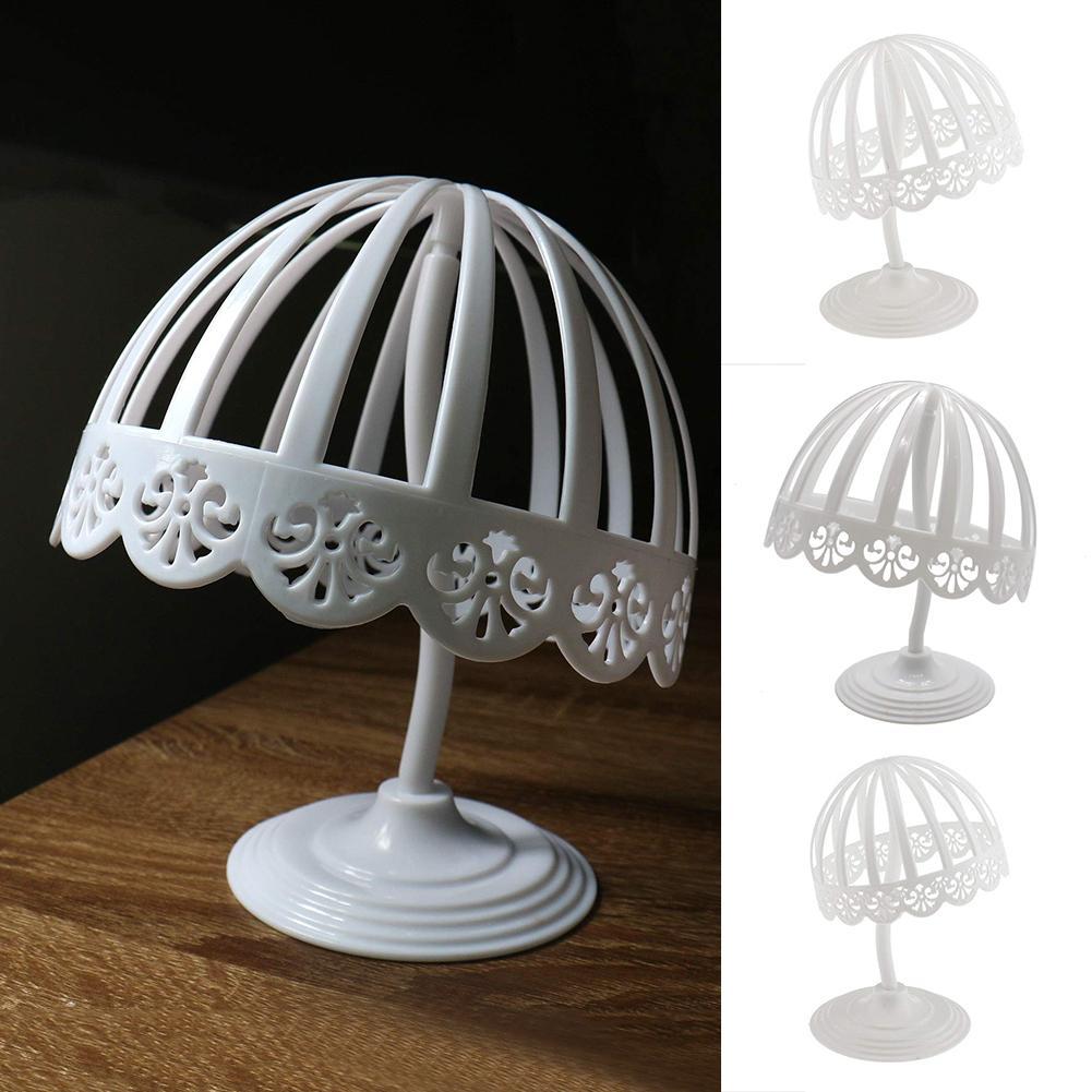 Desmontable sombrero casco pantalla estante pelucas Toupee soporte de almacenamiento de accesorios para el cabello