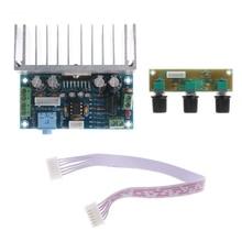 TDA7377 2.1 carte amplificateur de canal sonore 20W * 2 + 30W carte amplificateur de Subwoofer