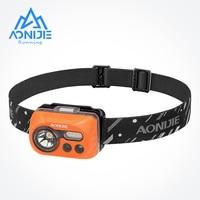AONIJIE E4031 Waterproof Sensitive LED Headlight Headlamp Flashlight Sensor Light For Running Fishing Camping Hiking Cycling