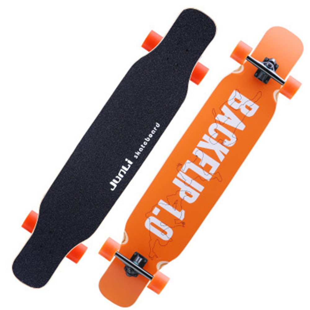 BZ скейт Панели 118 см/46.5in полный Стандартный скейт длинная Панели PU амортизация Кленовый Скейтборд Abec-11 подшипник Hb0302