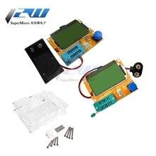 Mega328 LCD testeur de Transistor numérique LCR-T4 capacité numérique Triode rétro-éclairage écran LCD pour MOSFET/JFET/PNP/NPN pilote