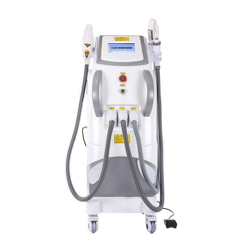 سعر المصنع IPL SHR / RF/Elight/جهاز إزالة الوشم بالليزر للحصول على أسود الكربون المعصم تقشير الجلد إزالة الشعر و ماكينة إزالة الوشم