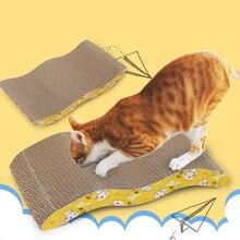 Deluxe Cat Toys drapak dla kota Pad drapanie Kitten tektura falista Pad koty paznokci skrobak mata materac prezent organiczny kocimiętka