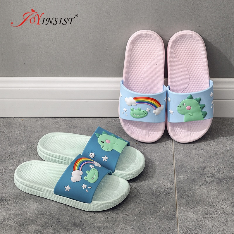 Jelly Shoes 2021 Girls Cartoon  Flip Flop Summer Animal Children Slippers Beach Toddler Shoes  Indoor Slippers Soft PVC