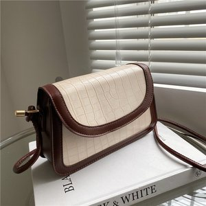 Crocodile Pattern One Shoulder Crossbody Bags for Women 2021 Luxury Brand Pu Leather High Quality Phone Case Handbag Bolso Mujer