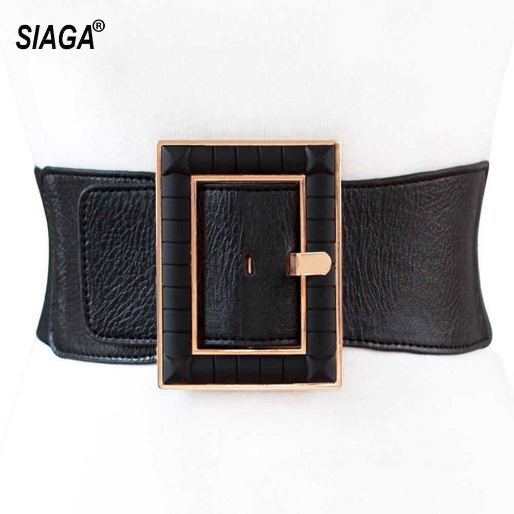 Женский широкий ремень из натуральной лакированной кожи, ширина 75 мм, AK011 ремень женский armani jeans цвет черный 75104 c2 12 размер i 75