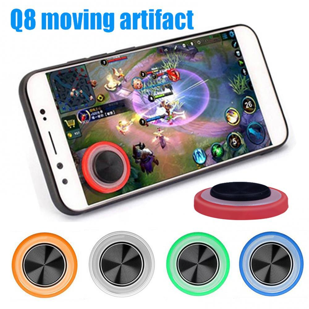 Q8 мини мобильный телефон планшет игровой джойстик на присоске сенсорный экран контроллер джойпад крышка пальца дышащий игровой контроллер