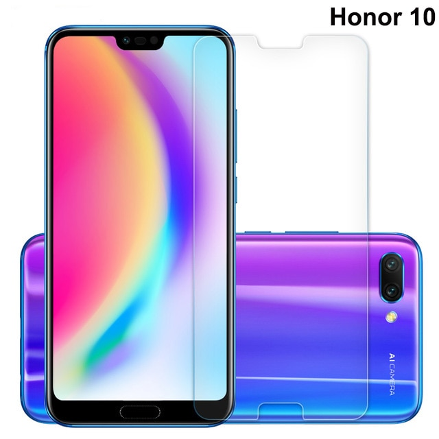 Tempered Glass for Huawei Honor 10 Screen Protector for 9H Hard 2.5D Explosion Proof Protective Film