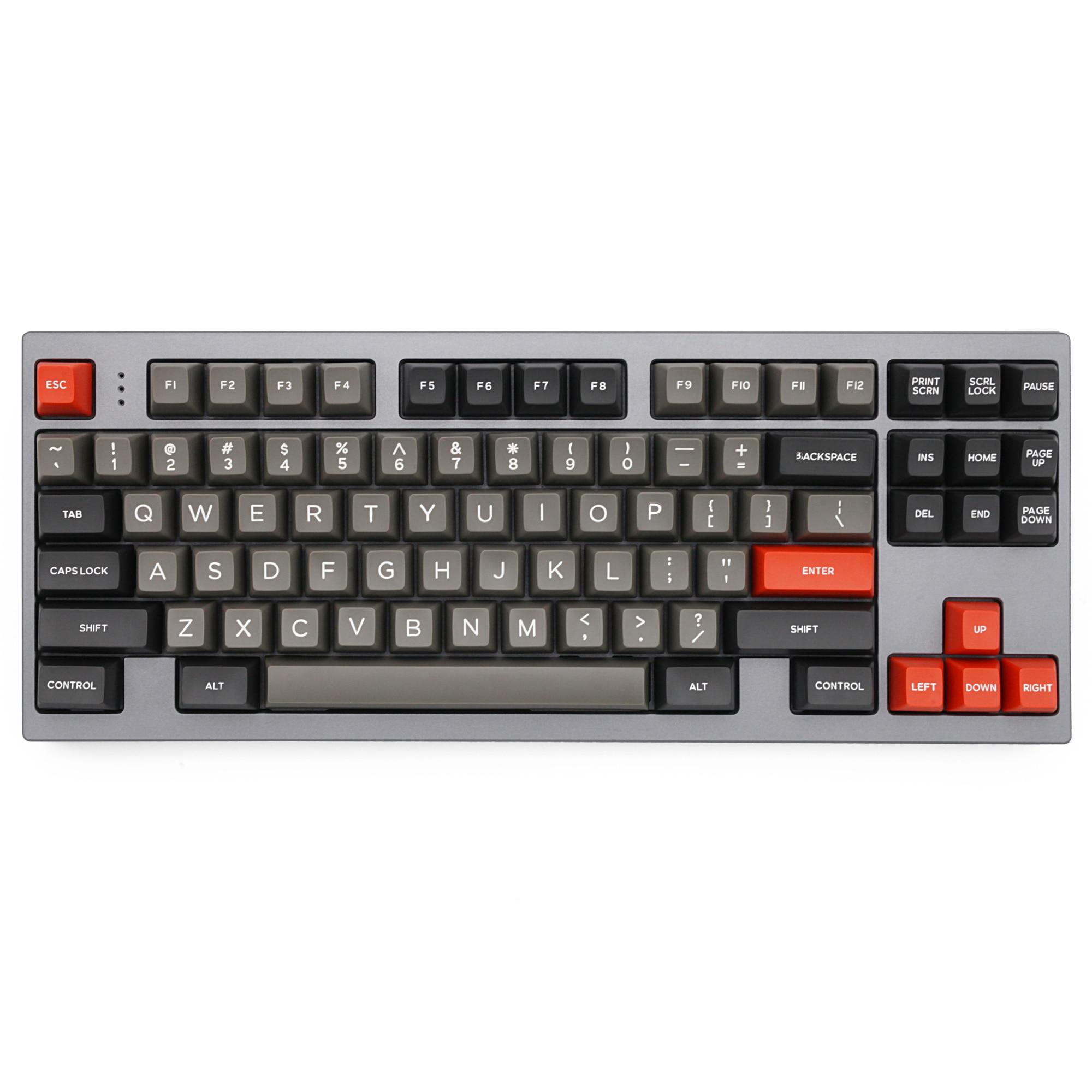Domikey SA abs doubleshot keycap классический профиль Dolch SA для mx stem keyboard poker 87 104 gh60 xd64 xd68 xd84 xd96 xd75 xd87