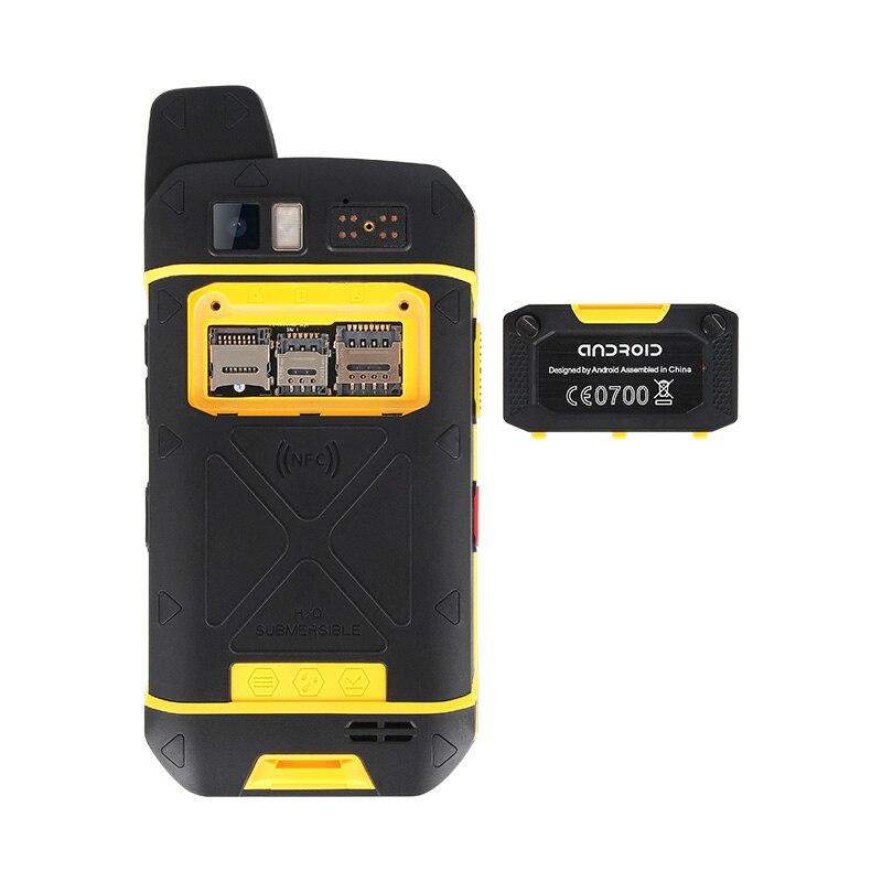MOSTHINK B6000 4G LTE Cellphone Zello PTT Walkie Talkie Octa Core IP68 Waterproof Smartphone 4GB+64GB 5000mAh NFC Android 6.0 enlarge