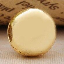 Оригинальный золотой цвет Подпись зажим фиксатор Бусины Подходят бусины из стерлингового серебра 925 Шарм браслет DIY ювелирные изделия