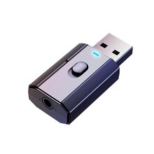 T7 USB Bluetooth Adapters BT 5.0 USB Wireless Computer Adapter Audio Receiver Transmitter Dongles Laptop Earphone Mini Sender