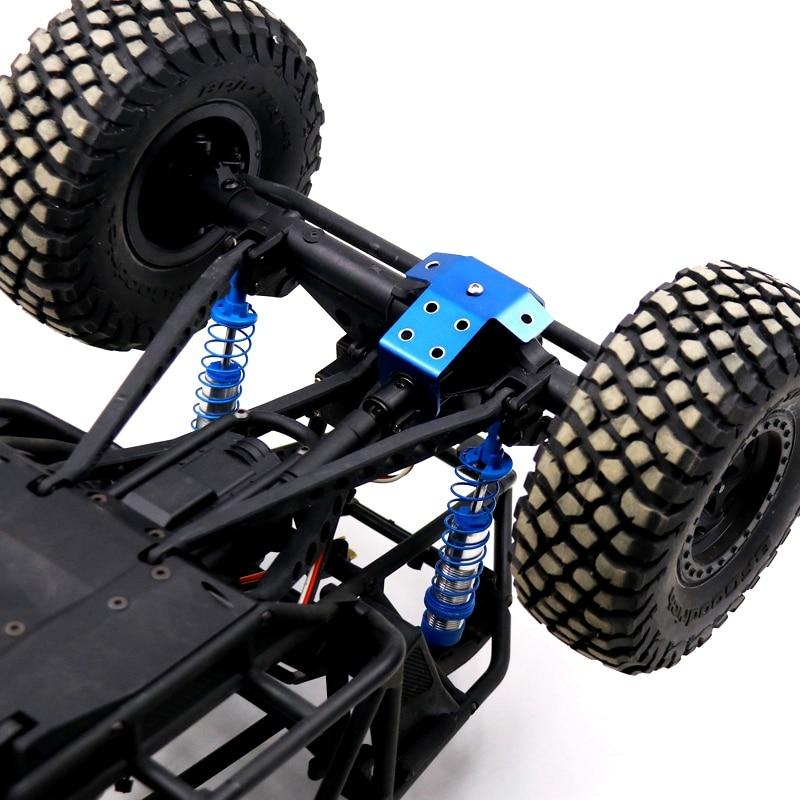 Axial wraith 2Pcs Metal Aluminum Alloy Front Rear Axle Guard for 1/10 RC Crawler Car Axial Wraith RR10 90048 enlarge