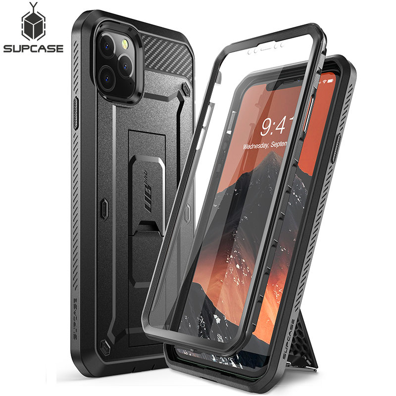 """Чехол для iPhone 11 Pro Max 6,5 """"(2019) SUPCASE UB Pro прочная кобура с полным корпусом со встроенной защитой для экрана и подставкой"""