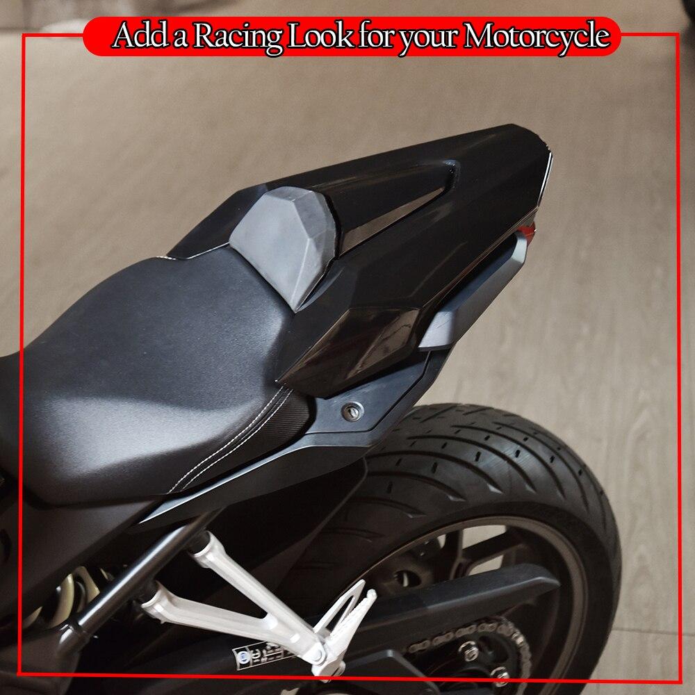 Motorcycle Seat Cover For 2019 2020 Honda CB650R CBR650R CB CBR 650R CB650 CBR650 R Rear Passenger Seat Cowl Hump Motor Parts