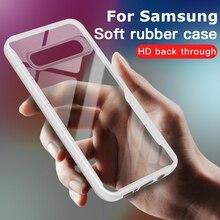 Pour Samsung Galaxy S20 S10 S9 S8 Plus Anti Choc Clair TPU Housse Pour Samsung A50 A51 A30S A10 A30 A20 A70 A40 A20 A50S A71