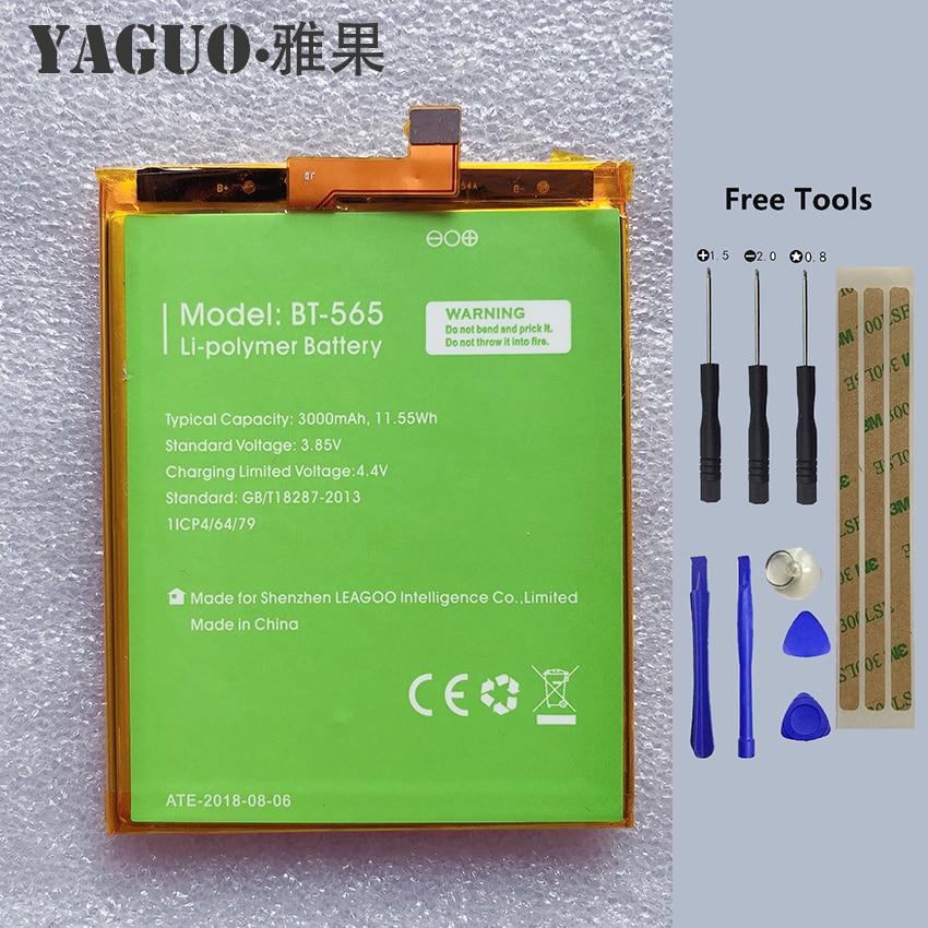 Batería de 100% y BT-565 Original de 3000mAh para Leagoo KIICAA Mix...