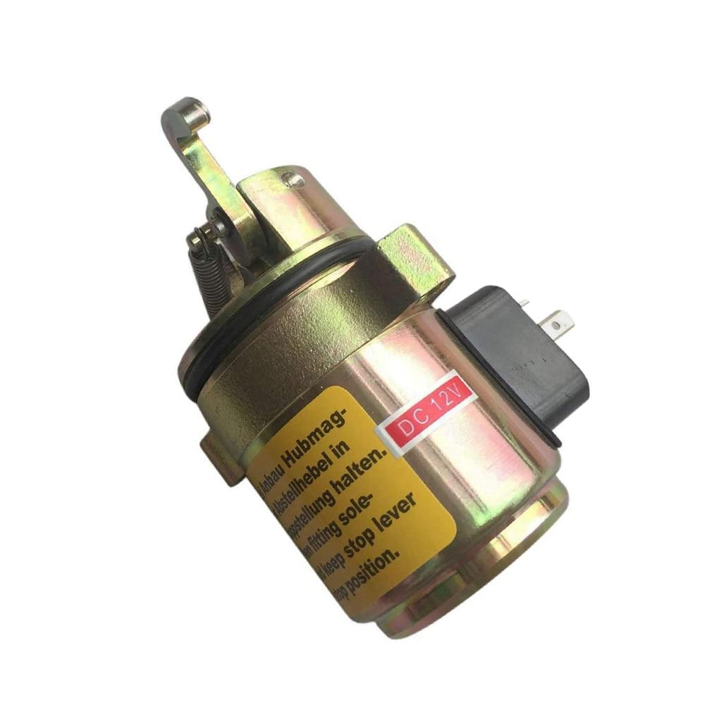 04272733 Fuel Shutdown Shut off Solenoid Valve For Deutz 1011 CASE 360 Backhoe Stop Valve 0427-2733 04170534R 0417-0534 0417053