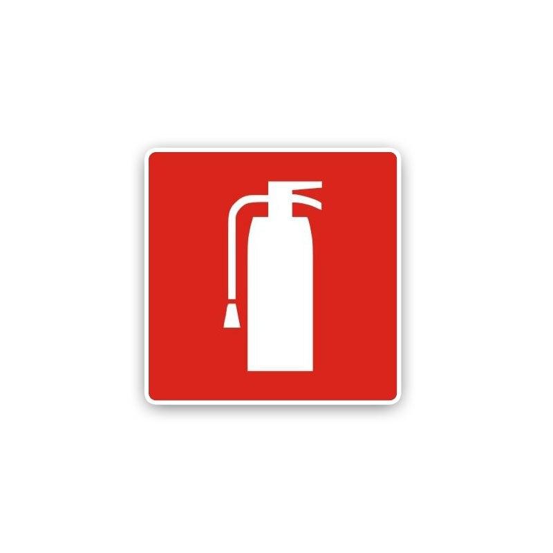 1 шт., автомобильная водостойкая наклейка-огнетушитель, 15 х15 см