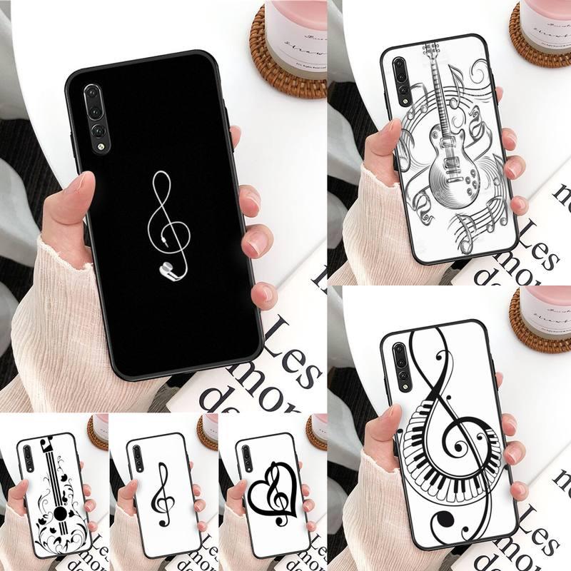 Funda de teléfono Yinuoda de silicona TPU para Huawei Mate 30 Pro P20 P30 P40 pro lite Y7 Y6 2019 para Honor 8X 8A 10 20lite 10i