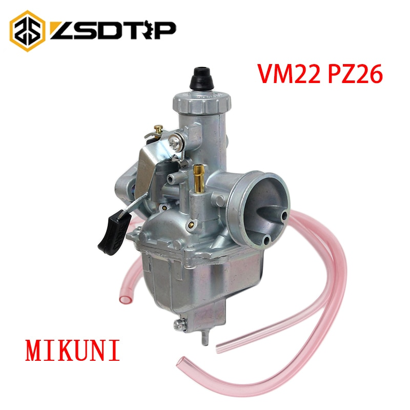 ZSDTRP 26mm Carburetor VM22 Carb For Lifan YX SSR CRF50 CRF70 140 125 110 cc Engine Mikuni Pit Dirt Bike ATV