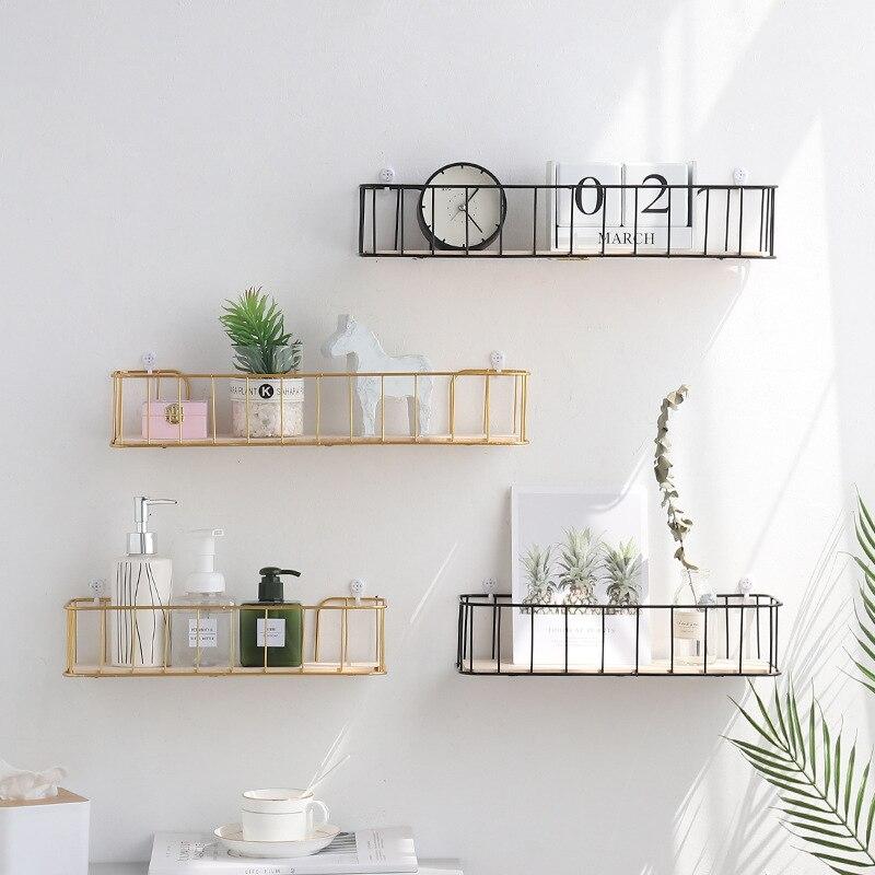 Новые скандинавские простые стеллажи для украшения дома