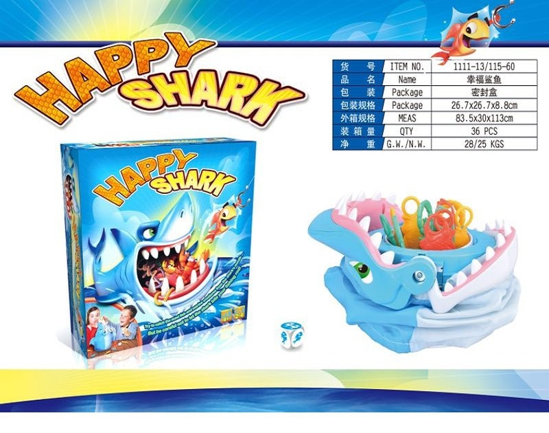 Fish Touch Great White Shark Careful Bite Shark Parent Child Interactive Tabletop Game Toy Bite Shark Christmas Goods Gift shark