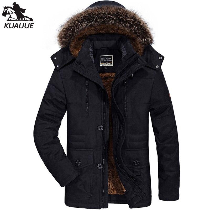 Зимняя куртка мужская парка Военная промышленная куртка мужская плюс бархатная утепленная ветровка с капюшоном Мужские повседневные тепл...
