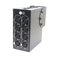 8way dmx distributor 8 channel output dmx dmx512 led controller signal amplifier splitter for home equipments stage light
