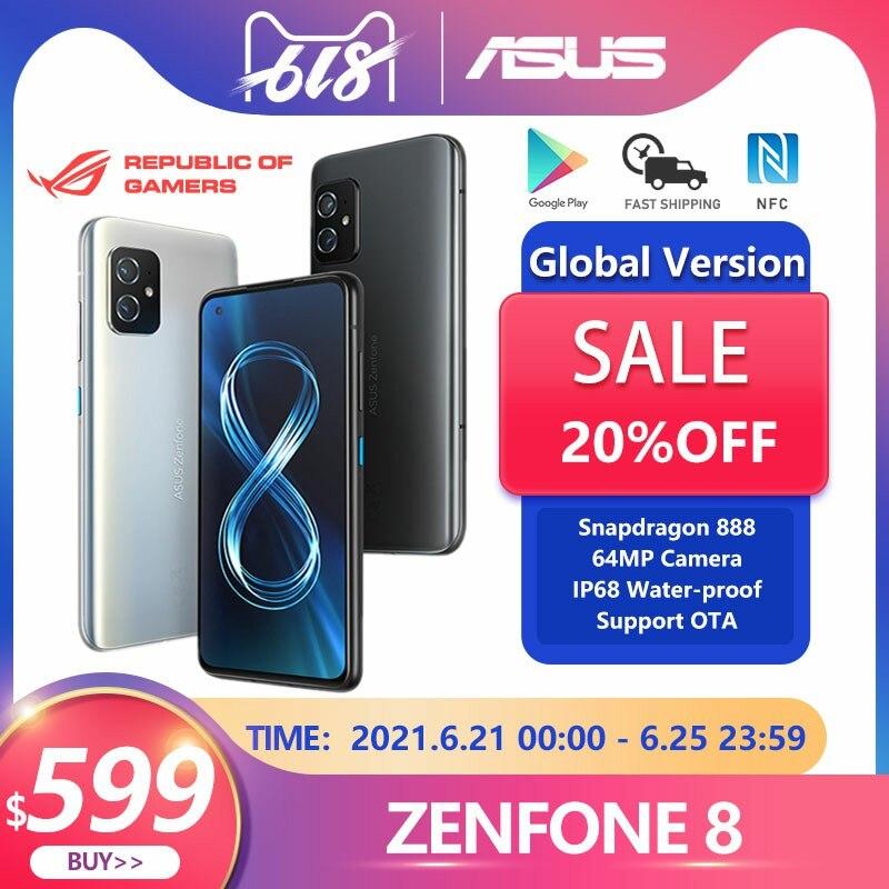 Nuevo ASUS Zenfone 8 versión Global 8/16GB RAM 128/256GB ROM Snapdragon 888...