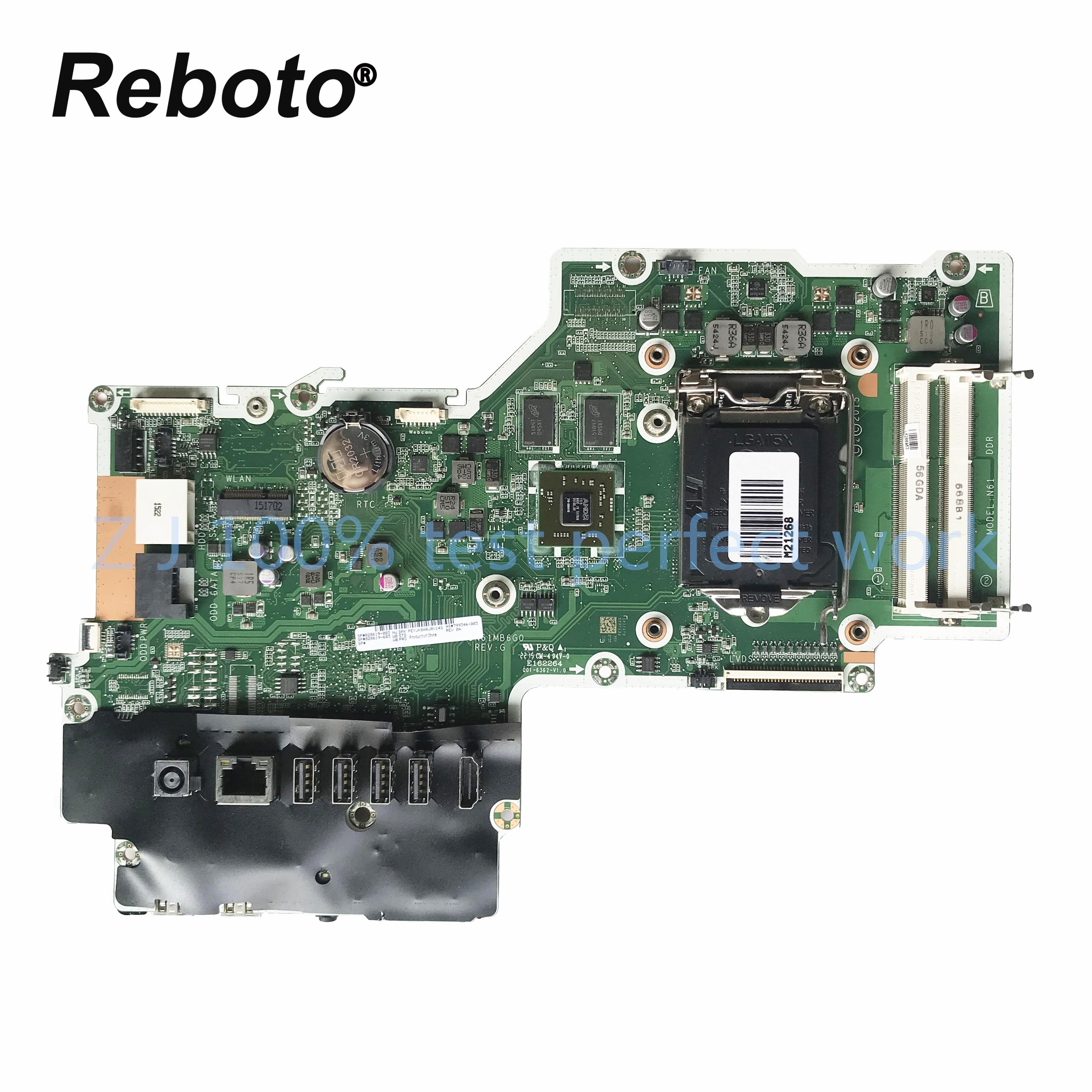 Nuevo para HP Pavilion 23-Q 27-N Touch placa base todo en uno 799346-003 799346-503 828619-003 828619-603 DA0N61MB6G0 100% probado
