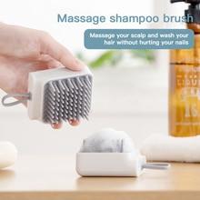 Mini Shampoo Massage Brush Deep Care Scalp Shampoo Scalp Hair Massager Promote Blood Circulation Hea