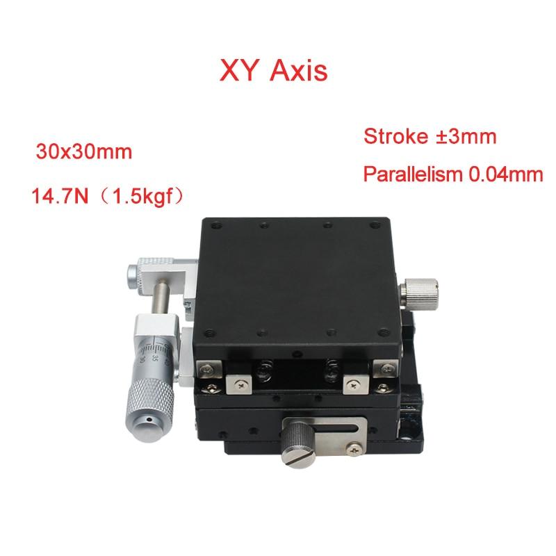 XYAxis 30*30 مللي متر الدقة دليل خطي مراحل Cnc دليل السكك الحديدية انزلاق الجدول PLY30-L/C/R خطي السكك الحديدية