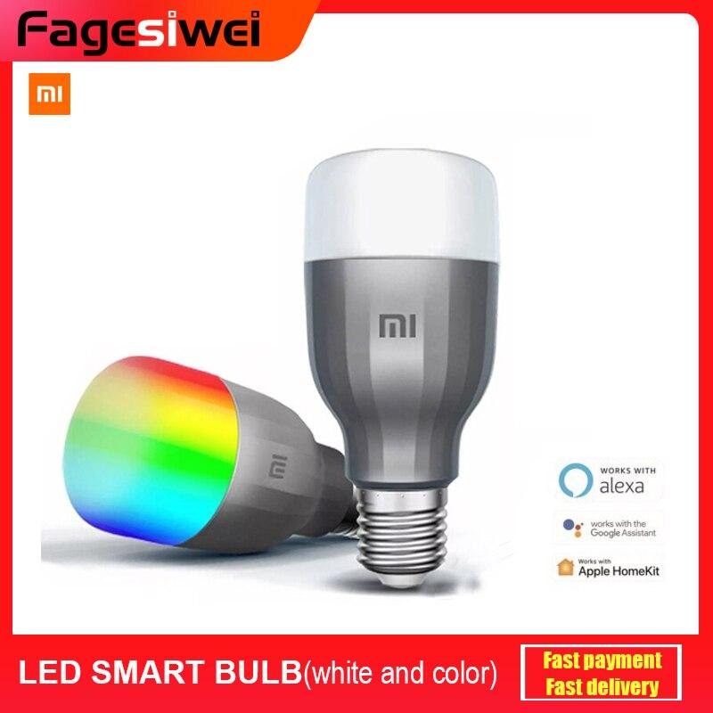 Xiaomi Mi LED Smart Bulb Color And White MJDP02YL APP WIFI Voice Control 10W 800lm 1700-6500K Color Temperature Lamp