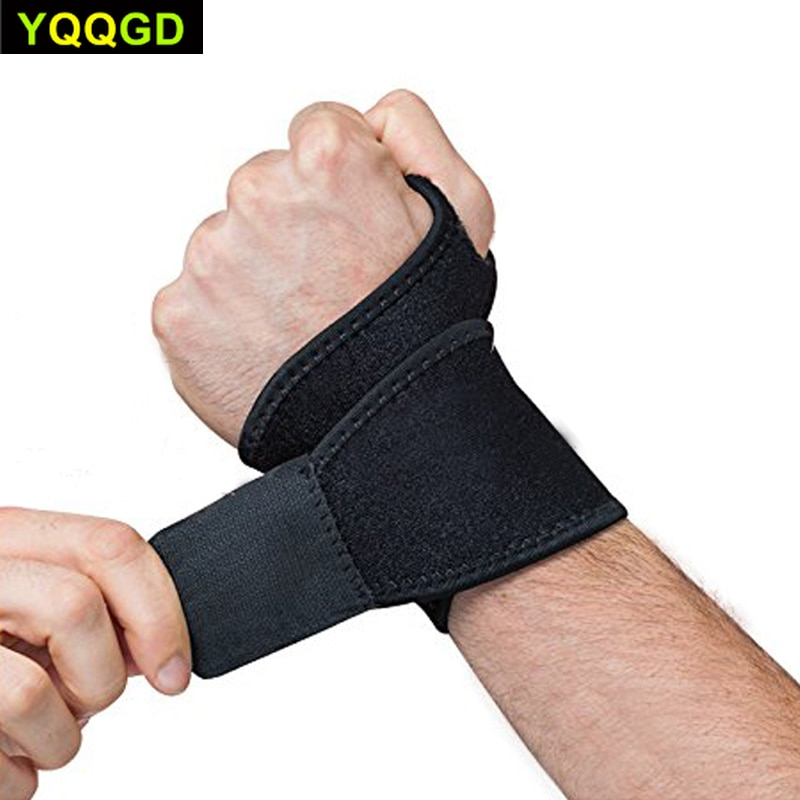 tcare reversible sports wrist brace thumb stabilizer adjustable wrist support wrap volleyball badminton basketball weightlifting 1Pcs Reversible Sports Wrist Brace, Fitted Right/Left Thumb Stabilizer, Adjustable Wrist Support Wrap for sports
