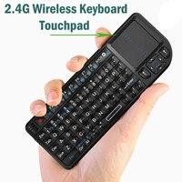 Беспроводная клавиатура Air Fly Mouse 2,4G, оригинальная мини ручная сенсорная клавиатура для Smart TV для Samsung LG, Android, ТВ, ПК, ноутбуков