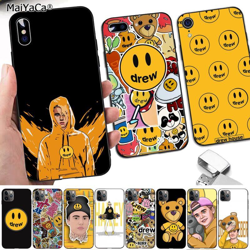 MaiYaCa, marca de lujo, funda de teléfono de Justin Bieber yummy draw house, Capa para iPhone 8 7 6 6S Plus X 5 5S SE 2020 XR 11 pro XS MAX