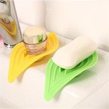 Nouveau multi-fonctionnel bague collectrice cuisine évier porte-éponge feuilles en forme de boîte à savon salle de bain Drain propre savon vaisselle ménage