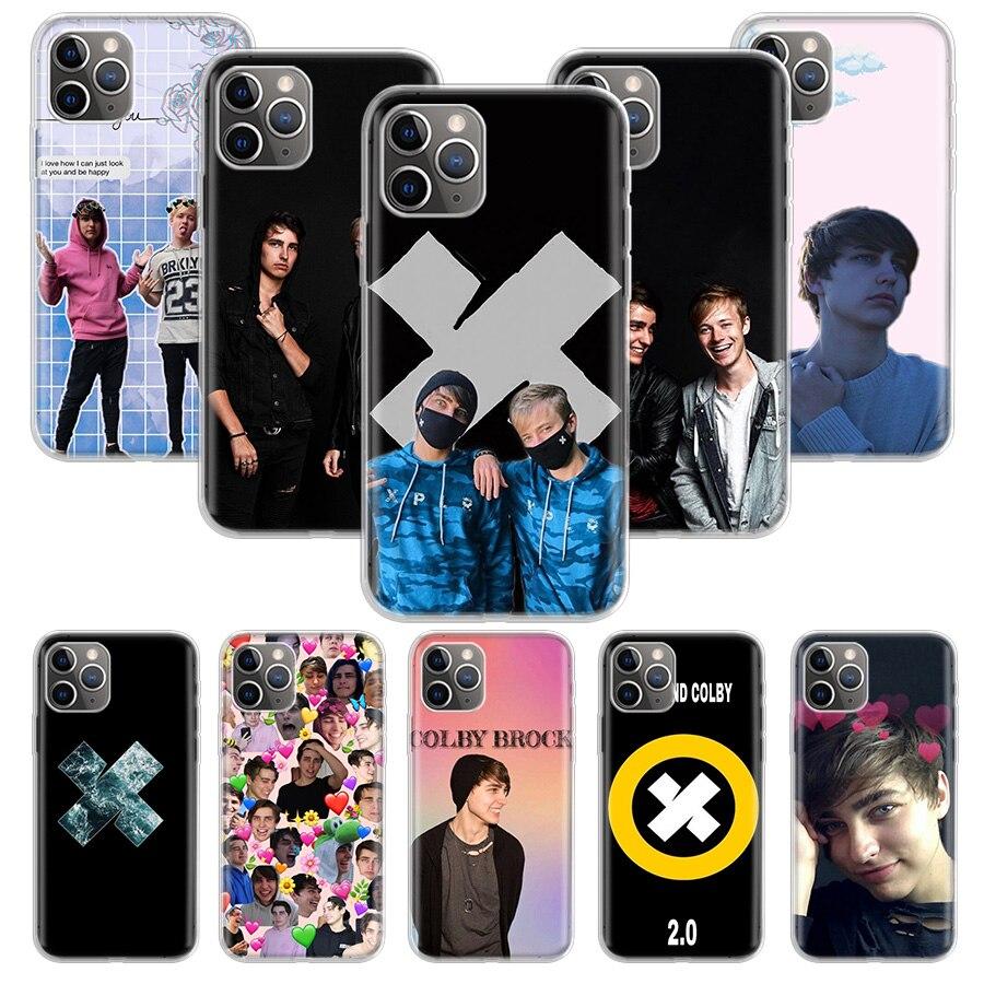 Funda Sam Colby para Apple iphone 11 Pro XS Max XR X 7 8 6 6S Plus 5 5S SE 10 diez regalo funda de silicona para teléfono