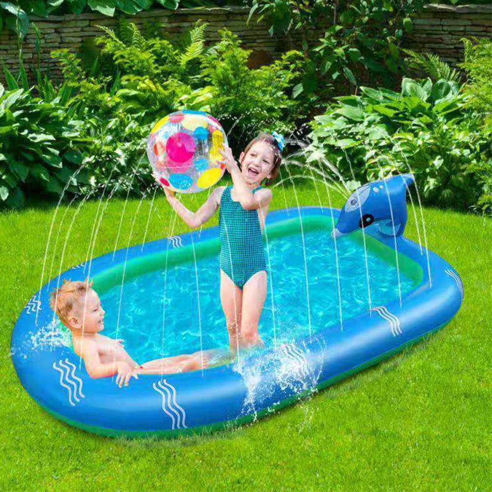 حمام أطفال قابل للنفخ طفل حوض سباحة قابل للنفخ أطفال بركة المياه بركة حصيرة طفل حمام سباحة قابل للنفخ قابل للإزالة بركة حمام سباحة للأطفال