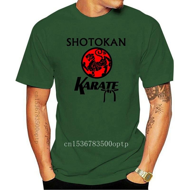 New Shotokan Karate Logo Retro T Shirt 140