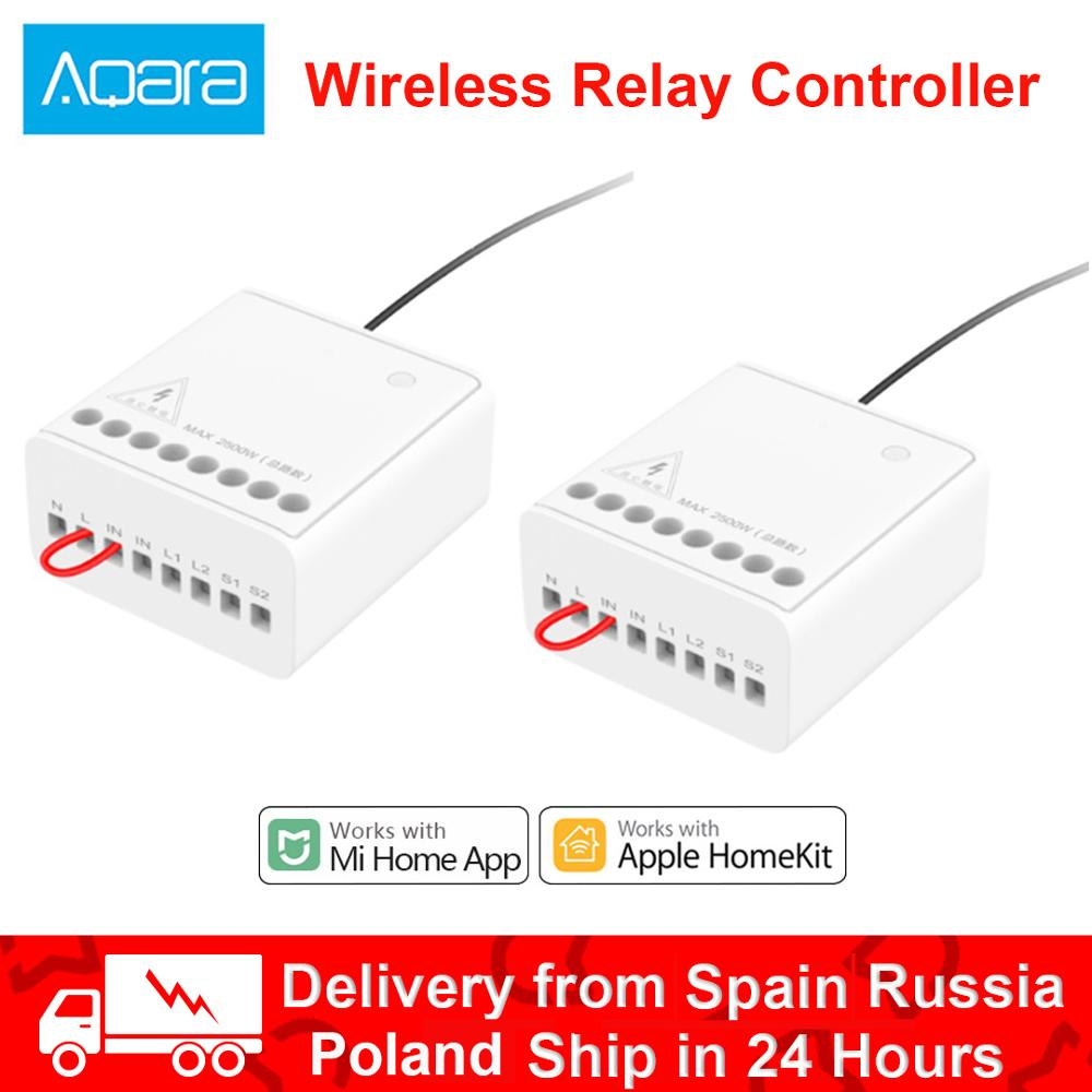 Xiaomi Aqara Two-way Control Relay Module Wireless Relay Switch Controller Smart Timer 2 Channels Wo