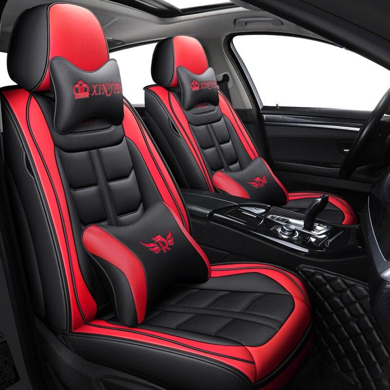 Aauto car seat cover For mitsubishi l200 carisma eclipse cross pajero 4 sport montero galant lancer 10 outlander xl accessories